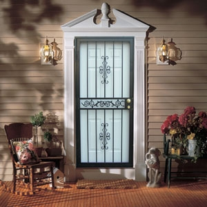 Security Storm Doors security storm door allegro #543-862guardian | securadoor