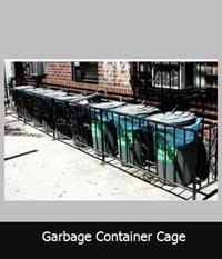 Kendi Garbage Enclosure Container Cage